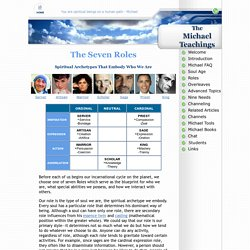 The Seven Roles - Michael Teachings