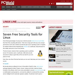 Seven Free Security Tools for Linux - PCWorld Business Center