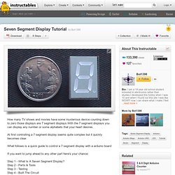 Seven Segment Display Tutorial