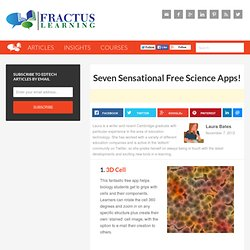 Seven Sensational Free Science Apps