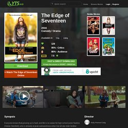 The Edge of Seventeen (2016) YIFY - Download Movie TORRENT - YTS