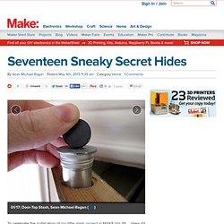 Seventeen Sneaky Secret Hides