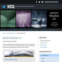 Tornadoes....Nature's Most Violent Storms
