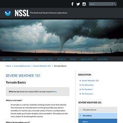 Severe Weather 101: Tornado Basics