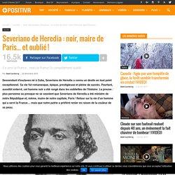 Severiano de Heredia : noir, maire de Paris... et oublié !
