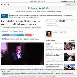 La Feria del Libro de Sevilla aspira a crecer en calidad, no en cantidad