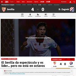 El Sevilla da espectáculo y es líder… pero no está en octavos - AS.com