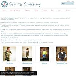 Sew Me Something,Patterns