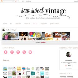 Sew Sweet Vintage: link up