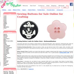 Sewing Button Crafts
