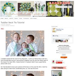 Sewing a Cheap Baby/Boys Neck Tie - Neck Tie Patterns