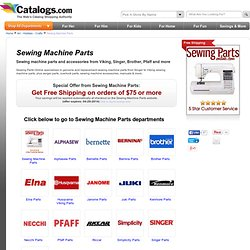 viking sewing machine parts replacement