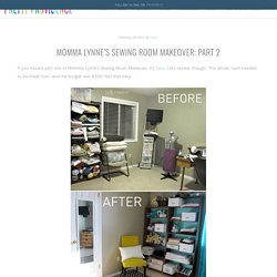 Momma Lynne's Sewing Room Makeover: Part 2 - Pretty Providence