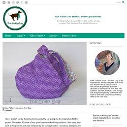 Patron de couture: sac à nœud japonais