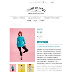 COCO sewing pattern – Tilly and the Buttons