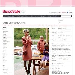 Dress Coat 09/2012 #102