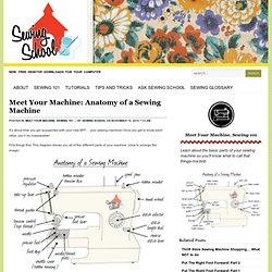 Sewing School - your online source for all things sewing — Meet Your Machine: Anatomy of a Sewing Machine