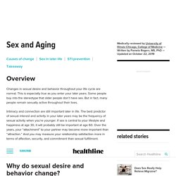 Sex and Aging: Changes, Risks, and More