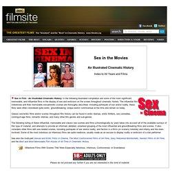 Sex in Film - Cinematic History