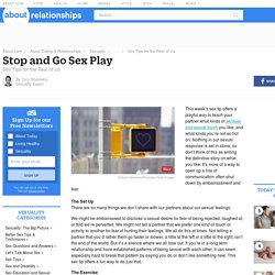 Sex Tips – Stop and Go Sex Play