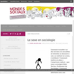 Le sexe en sociologie