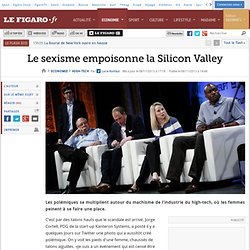 Le sexisme empoisonne la Silicon Valley