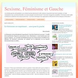 Le féminisme est impertinent… aussi pour la gauche