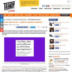 Myself & Co : À la fac, dans la rue… alerte au sexisme ordinaire - L'Etudiant Trendy
