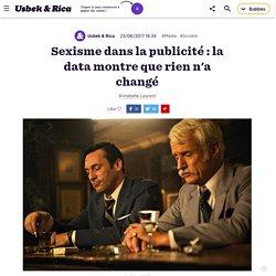 Sexisme dans la publicité : la data montre que rien n'a changé