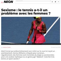 Sexisme : le tennis a-t-il un problème avec les femmes ?