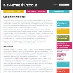 Sexisme et violence