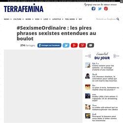 #SexismeOrdinaire : les pires phrases sexistes entendues au boulot