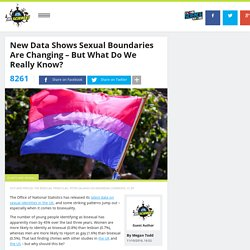 New data shows sexual boundaries are changing – but what do we really know?