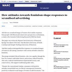 How attitudes towards feminism shape responses to sexualised advertising