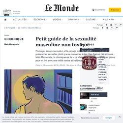 Petit guide de la sexualité masculine non toxique