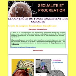 Sexualite et procreation