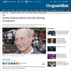 Former bishop admits sexually abusing young men