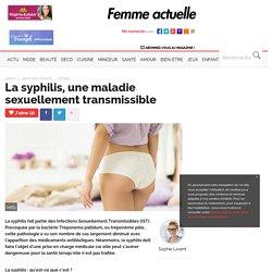 La syphilis, une maladie sexuellement transmissible