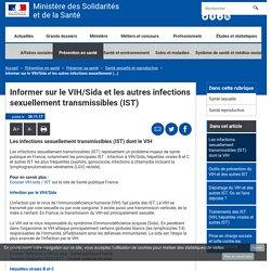 Informer sur le VIH/Sida et les autres infections sexuellement transmissibles (IST) - Santé sexuelle et reproductive