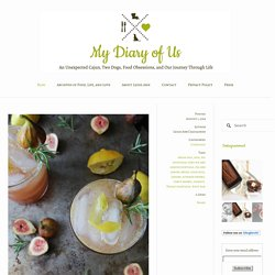 Sexy Fig and Lemon Fizz — My Diary of Us
