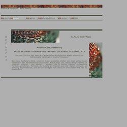 Klaus Seyfang - Geflecht & Skulpturen