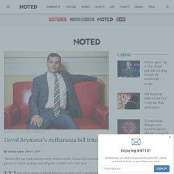 David Seymour's euthanasia bill triumph