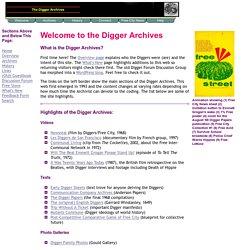 SF Diggers (1966-68, beyond)