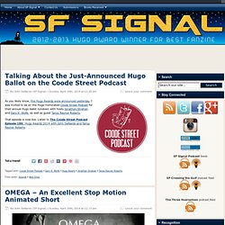SF Signal – A Speculative Fiction Blog
