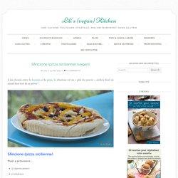 Sfincione (pizza sicilienne) (vegan) - Lili's (vegan) Kitchen