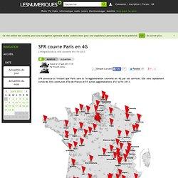 SFR couvre Paris en 4G