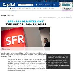 SFR : les plaintes ont explosé de 120% en 2016 !