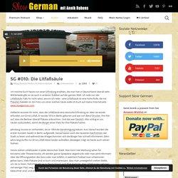 Hörverstehen: Die Litfaßsäule - Slow German