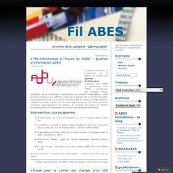 Fil ABES - SGB mutualisé