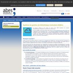 SGB mutualisé – Projets en cours